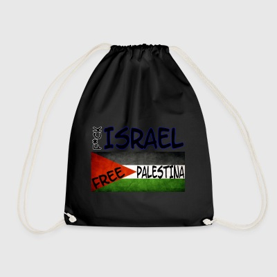 Free Palestina T-Shirt Slim Fit (Heren) - Gymtas