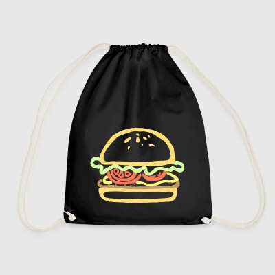 Burger - Drawstring Bag