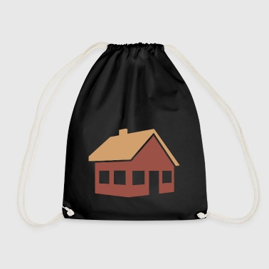 building house homes architecture house building211 - Drawstring Bag