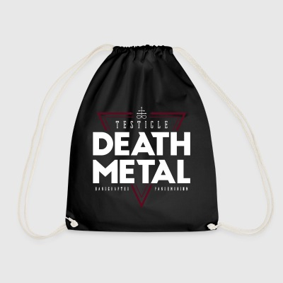 Testicle Death Metal - Drawstring Bag