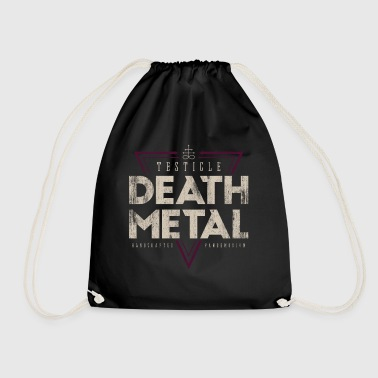 Testicle Death Metal Vintage - Drawstring Bag