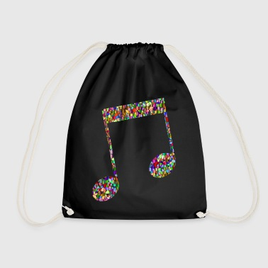 Musical note - Mosaic - Gymbag