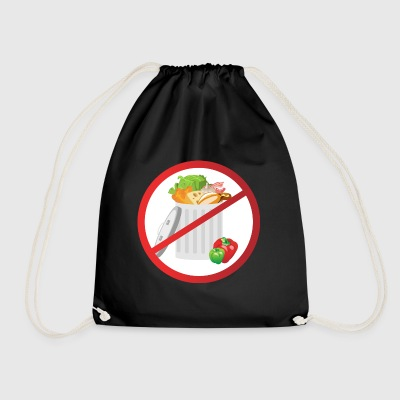 Stop food waste - Drawstring Bag