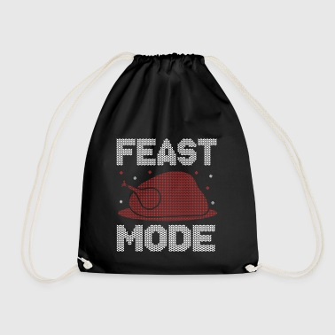 Feast Mode Christmas xmas - Turnbeutel