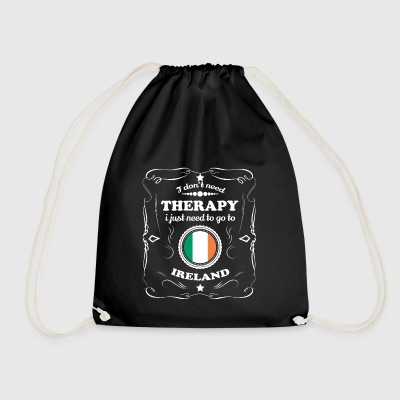 DON T NEED THERAPY WANT GO IRELAND - Drawstring Bag