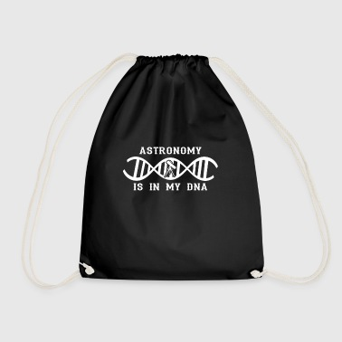 dna dns roots love calling telescope telescope - Drawstring Bag