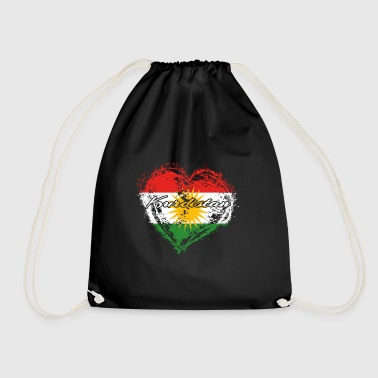HOME ROOTS COUNTRY GIFT LOVE Kurdistan - Turnbeutel