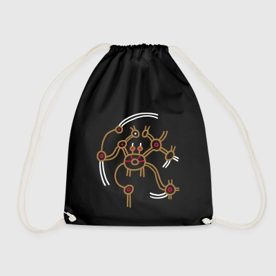 Dancing devil - Drawstring Bag