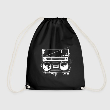 Graffiti ghetto blaster - Drawstring Bag