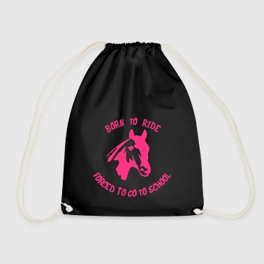 2541614 11148710 borntoride - Drawstring Bag