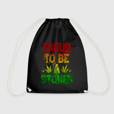 Proud To Be A Stoner - Drawstring Bag