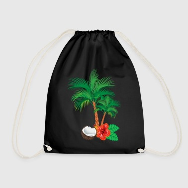 Caribbean flair - Drawstring Bag