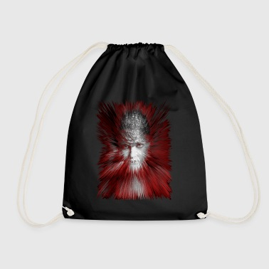 Gloria red - Drawstring Bag