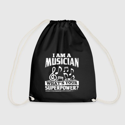 Funny Musician Music Shirt I Am A - Turnbeutel