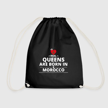 queens from gift i love MOROCCO - Drawstring Bag