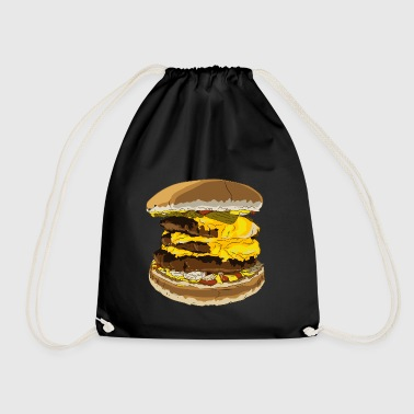 A tasty burger - Drawstring Bag