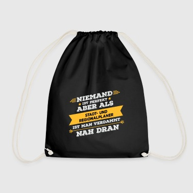 City and regional planner profession gift - Drawstring Bag