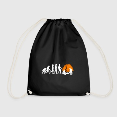 Camping outdoor gift outdoor tent - Drawstring Bag