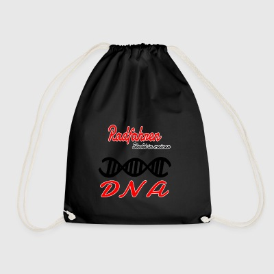 Is cycling in my DNA hobby - Drawstring Bag