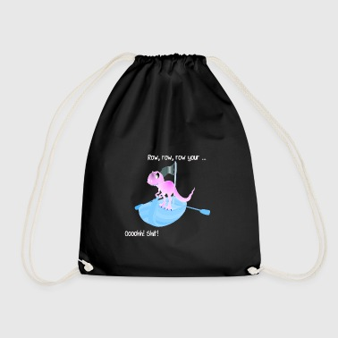 Dino on board! - Drawstring Bag