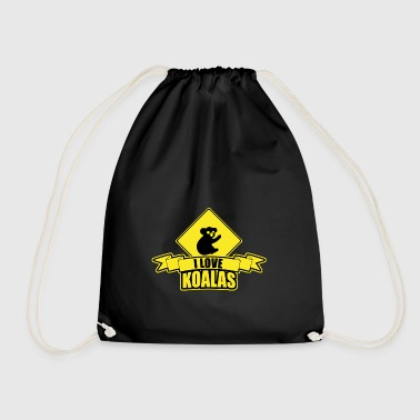 I love koal - Drawstring Bag