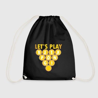 Beer Party regalo beerpong dicendo gioco potabile - Sacca sportiva