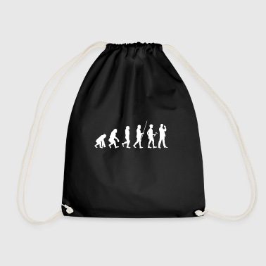 Evolution to Spies T-Shirt Gift Detective - Drawstring Bag