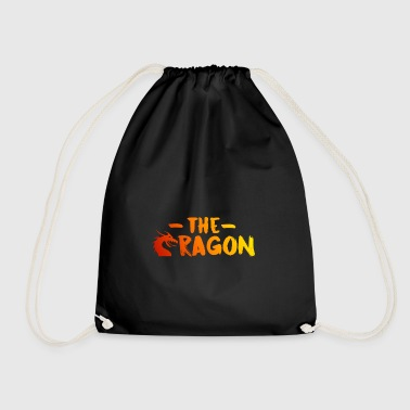 The Dragon [Red] - Drawstring Bag