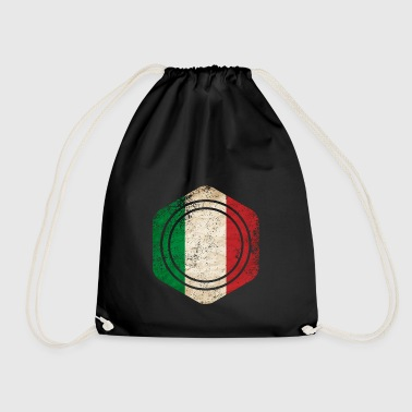 HEXAGON ITALY GRUNGE - Drawstring Bag