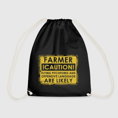 Farmers pitchforks - Drawstring Bag
