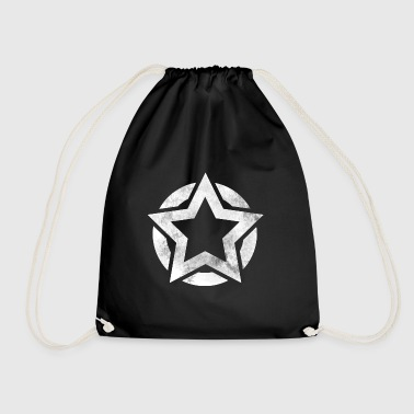 Star i Circle grunge gave - Gymbag