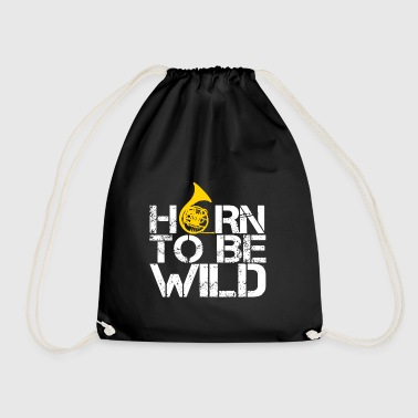 HORN TO BE WILD - Drawstring Bag