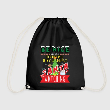 Dental Hygienist Christmas Gift Idea - Drawstring Bag