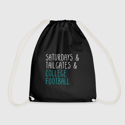 Saturdays Tailgates College Football - Turnbeutel