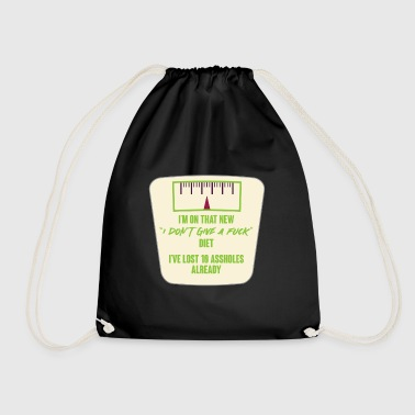 LOL - Sarcastic - Funny - Asshole - Gift - Drawstring Bag