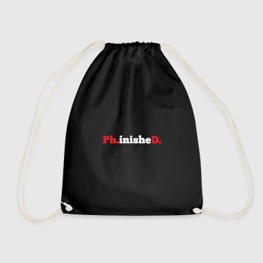 Ph.inisheD. gift for Doctors - Drawstring Bag