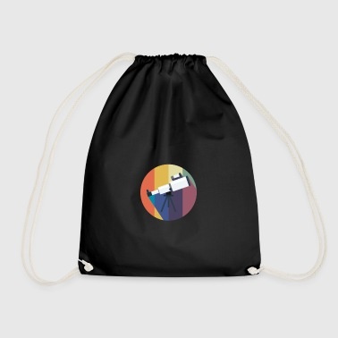 Vintage gift for Astronomy Lovers - Drawstring Bag
