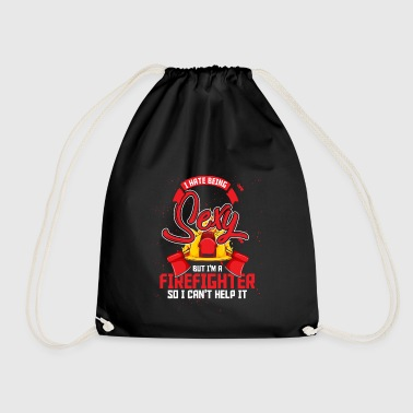 Firefighters sexy firefighter equipment - Drawstring Bag