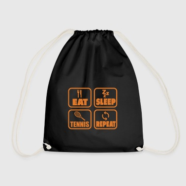 Tennis Racquets Gift Idea Sports Sportsman - Drawstring Bag