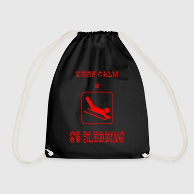 GO_SLEEDING - Drawstring Bag