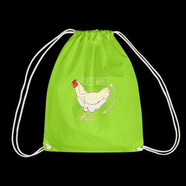 Guess What? Funny Chicken - Drawstring Bag