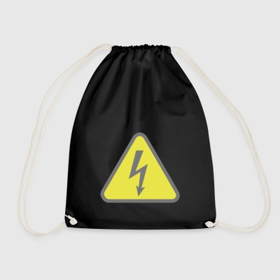 electricity - Drawstring Bag