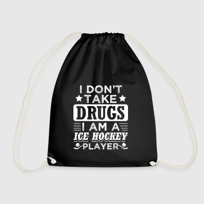 Funny Ishockey Ishockey Shirt No Drugs - Sportstaske