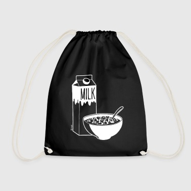Dice Krispies - White - Drawstring Bag