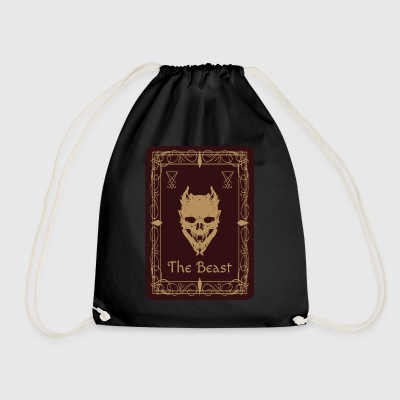 The Beast Tarot - Drawstring Bag