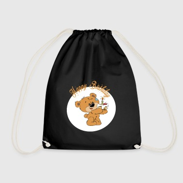 Petit ourson - Happy Birthday - Sac de sport léger