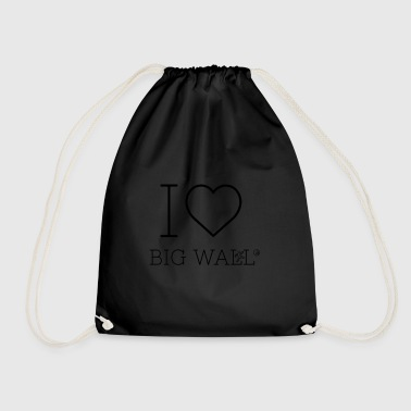 I love Big Wall - Drawstring Bag