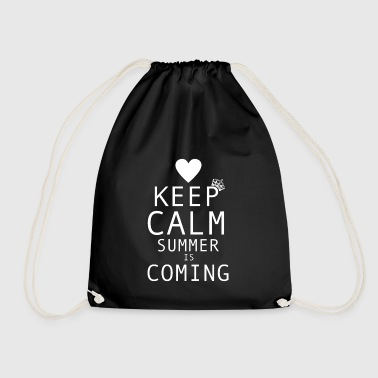 Summer | The summer comes - Drawstring Bag