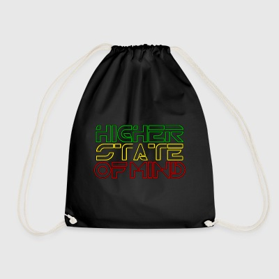 Higher State Of Mind - Drawstring Bag