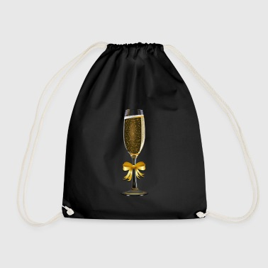 champagne - Drawstring Bag